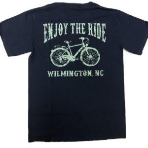 enjoy the ride wilmington navy back