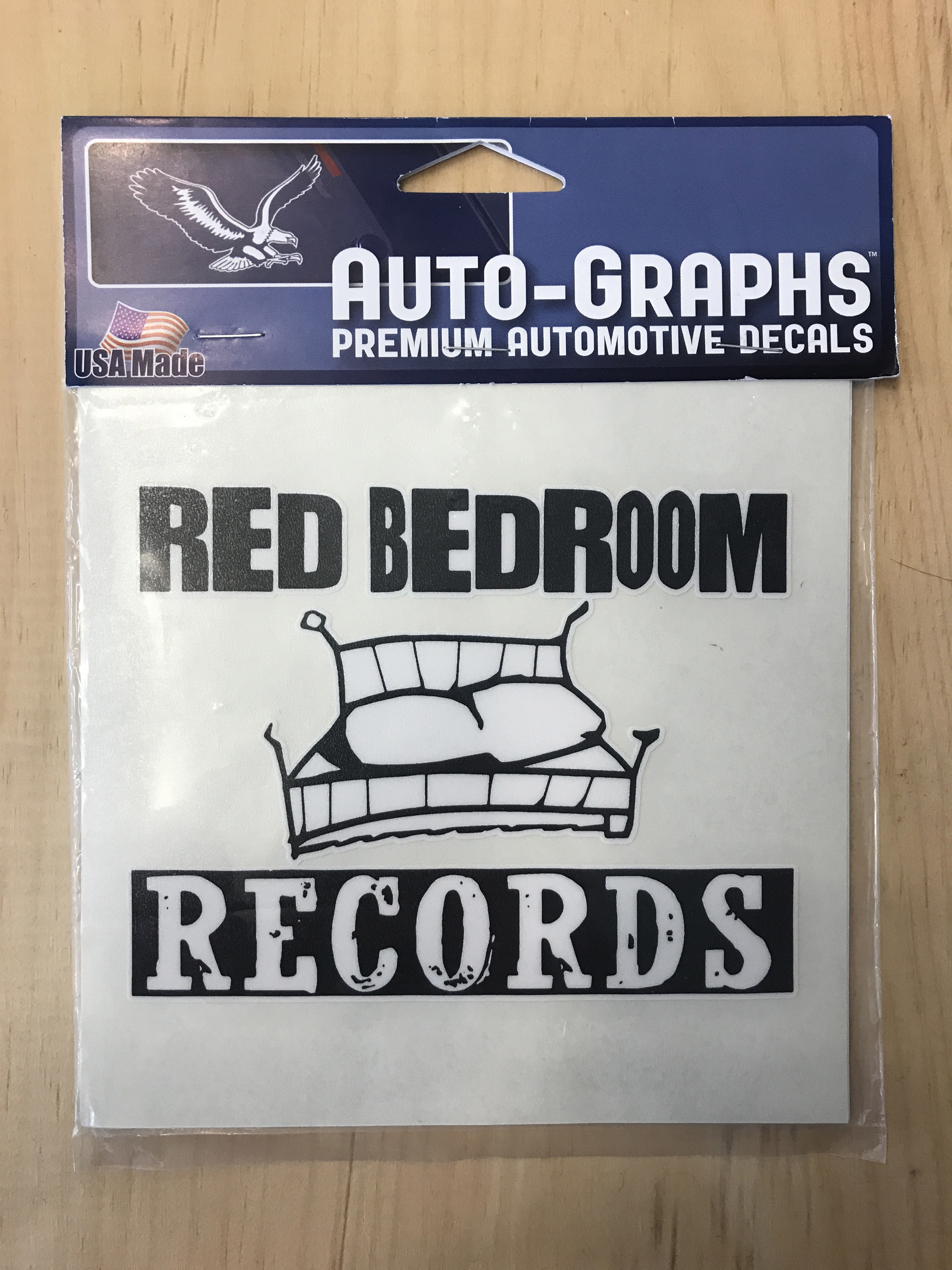 One Tree Hill Decal  Red Bedroom Record