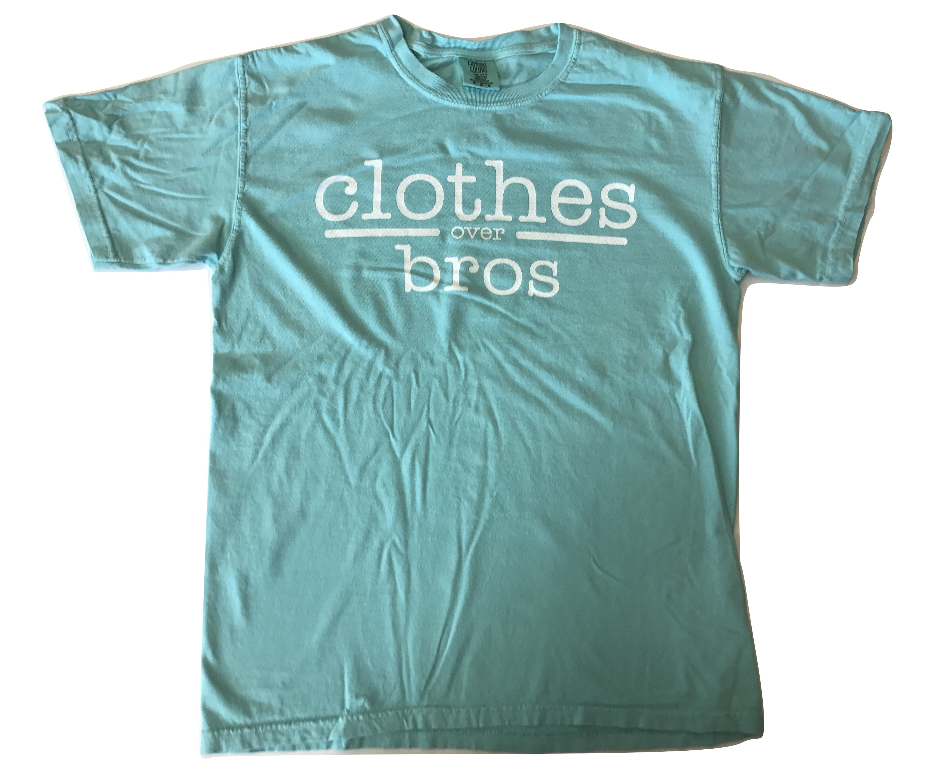 Clothes over bros t shirt chalky mint comfort color for Mint color t shirt