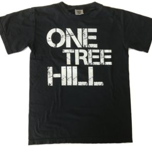 one tree hill spelled out black