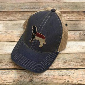 578b29db45a NC Dog – Legacy OFA Trucker Hat – Vintage Blue Jean